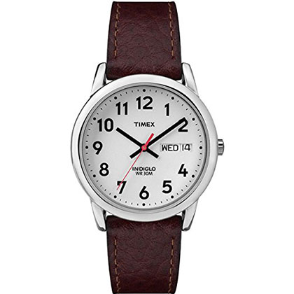 5. Timex Easy Reader Day-Date Watch