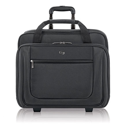 4. Solo 17.3 Inch Rolling Laptop Case