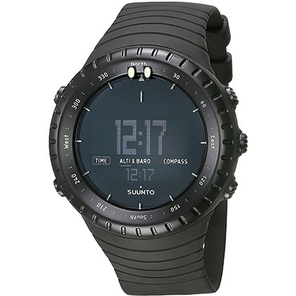 6. Suunto Core Altimeter Watch All Black