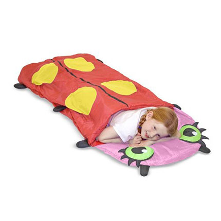 8. Melissa & Doug Mollie Ladybug Sleeping Bag