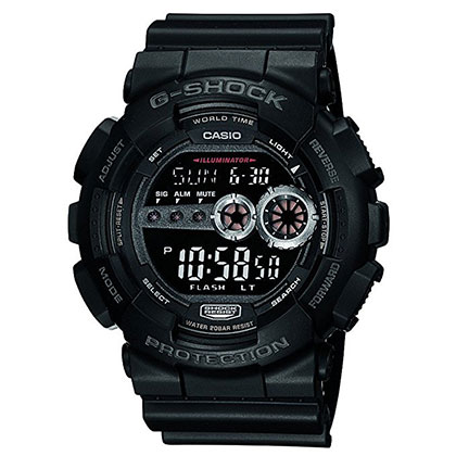 8. Casio G-Shock Watch (GD-100-1B)