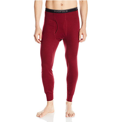 1. Duofold Men's Thermal Pants - Midweight (Wicking)