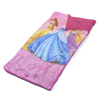 2. Disney Princess Slumber Bag Set