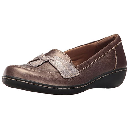 5. Clarks Women's Ashland Bubble Slip-On