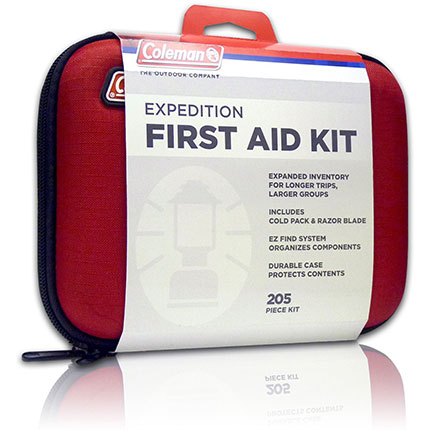 5. Coleman First Aid Kit for Emergencies (205-Pieces)