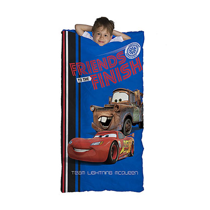 "7. Disney/Pixar Cars 30"" x 54"" Slumber Bag"
