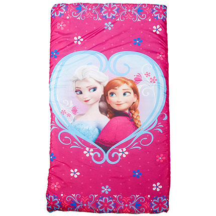 3. Disney Frozen Anna and Elsa Pink Slumberbag (Pink)