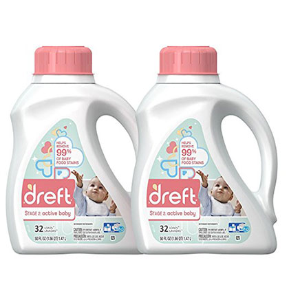 8. Dreft Stage 2 Laundry Detergent