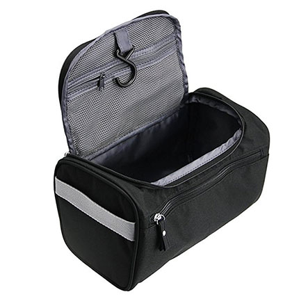 8. TravelMore Hanging Travel Toiletry Bag