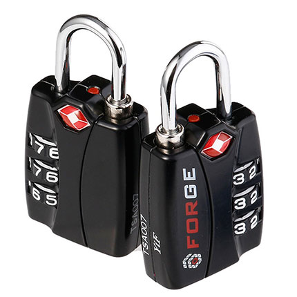 2. Forge TSA Locks 2 Pack