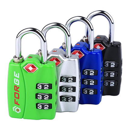 3. Forge TSA Lock 4 Pack