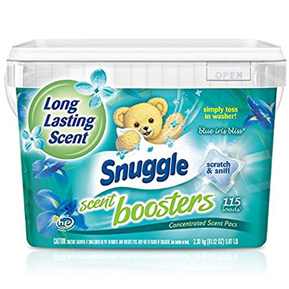 3. Snuggle Laundry Concentrated Scent Pacs (115 Count)