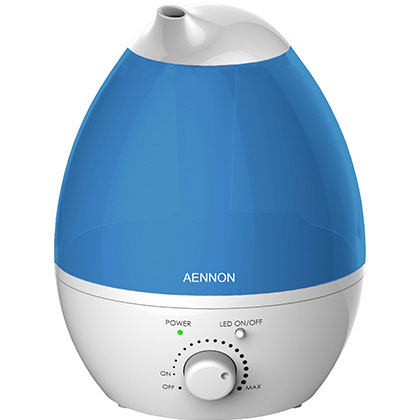 9. Aennon 2.8L Cool Mist Humidifier