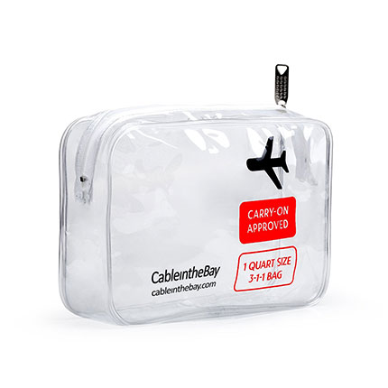 2. Cableinthebay TSA Approved Toiletry Bag