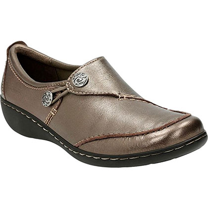 6. Clarks Women's Slip-On Loafer (Ashland Lane Q)