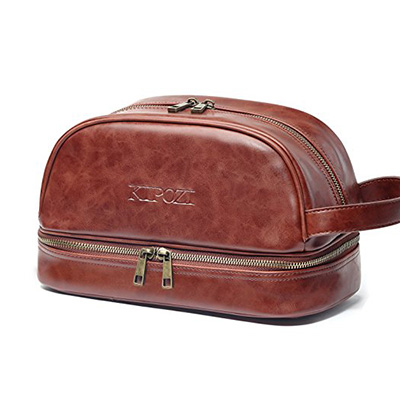 3. KIPOZI Toiletry Bag for Men