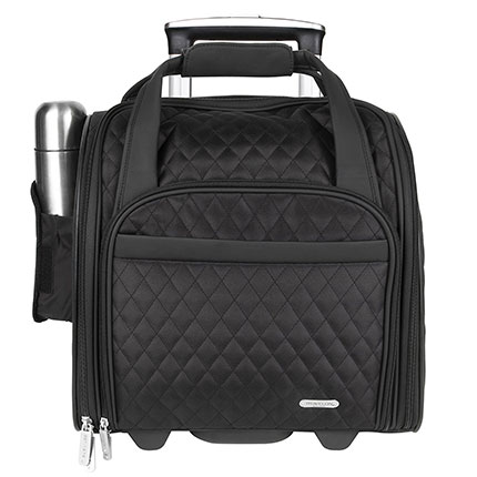 9. Travelon Wheeled Carry-On with Back-Up Bag