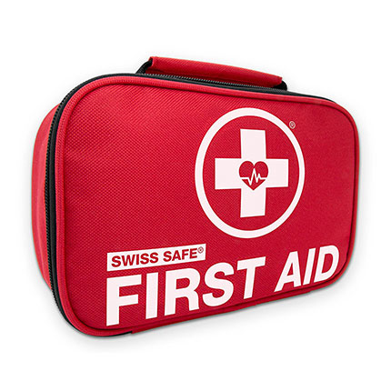 2. Swiss Safe 2-in-1 First Aid Kit (120 Piece)